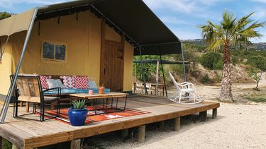 eco-glamping Finca Les Coves
